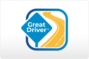 Save up to 10% on your car insurance just for enrolling in the Great Driver program.