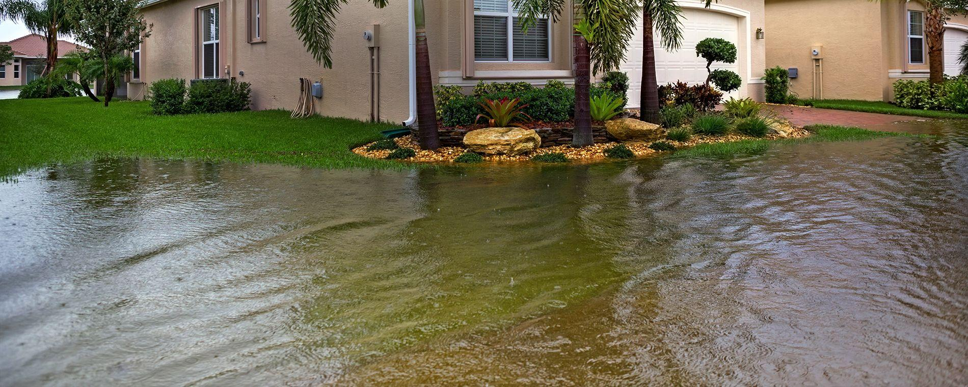 Flood damage is not covered by homeowners insurance