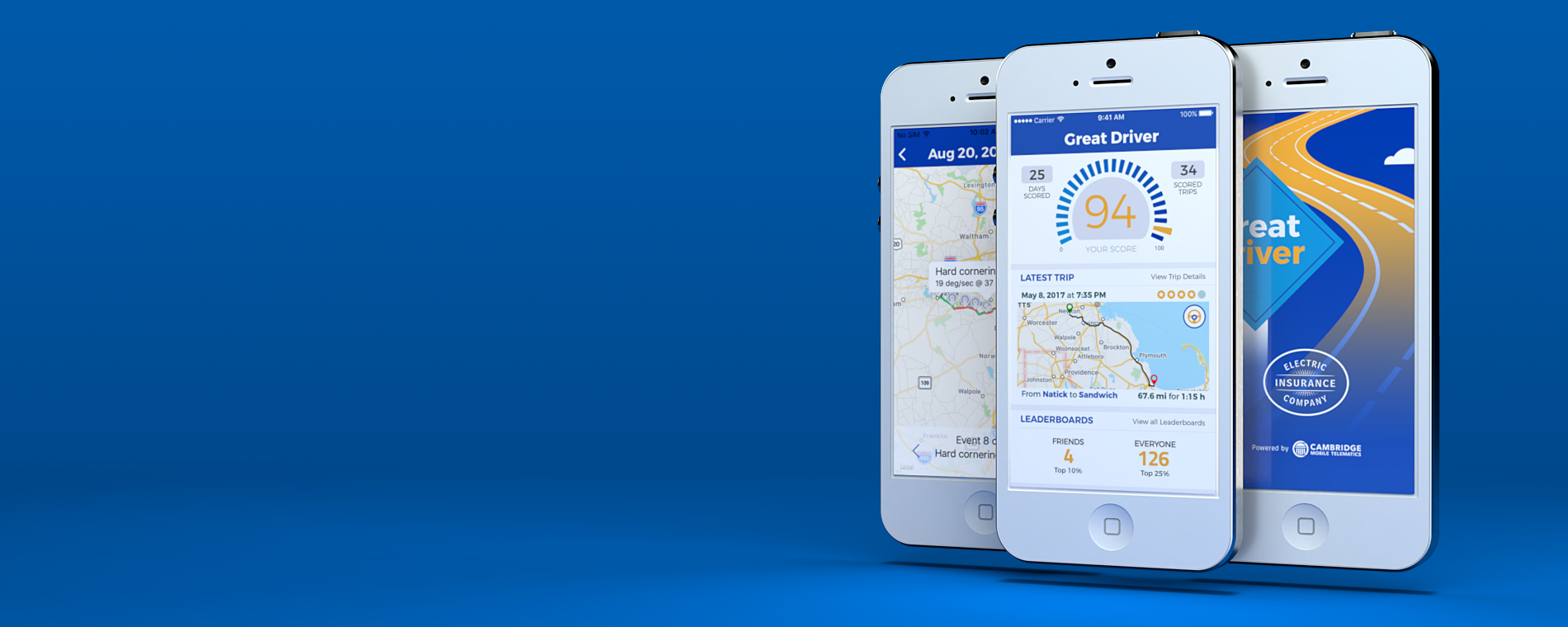 The Great Driver app is safe and secure.